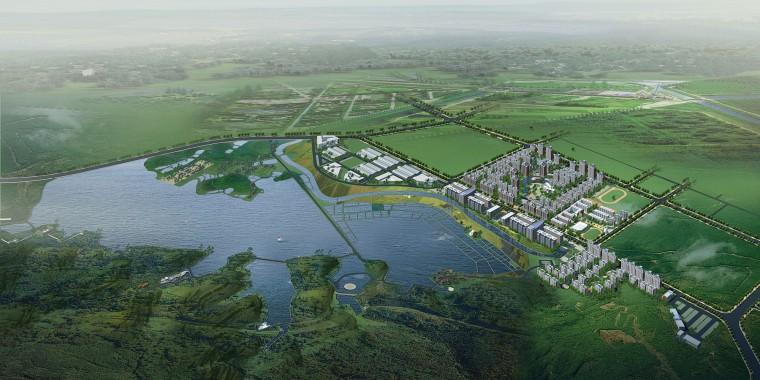 QuingGang lake 1
