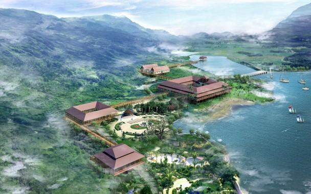 QuingGang lake 3