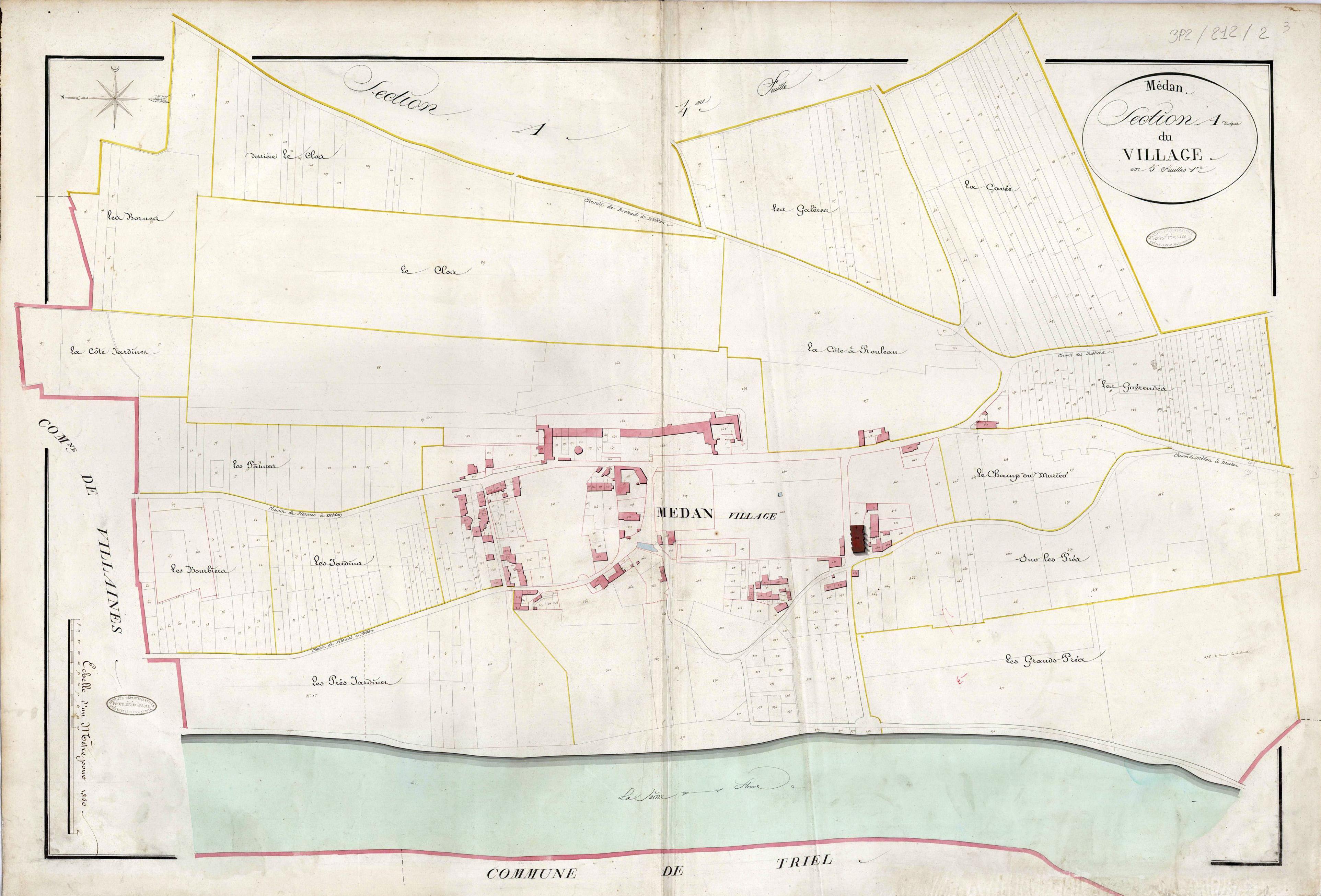 Plan Cadastre de 1821